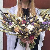 Цветы и флористика ручной работы. Ярмарка Мастеров - ручная работа Раскидистый букет. Handmade.