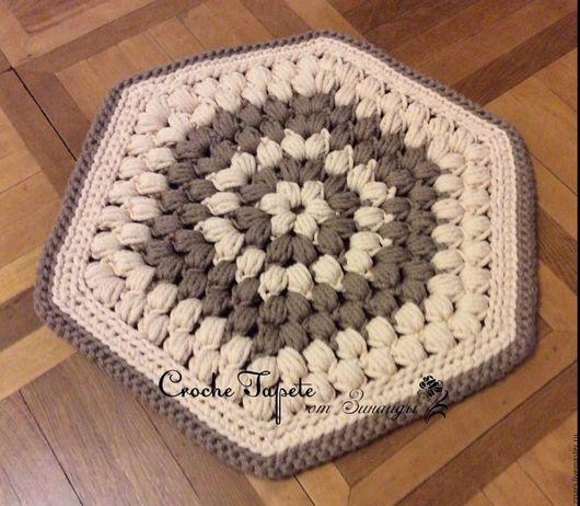 Текстиль, ковры ручной работы. Ярмарка Мастеров - ручная работа. Купить Коврик на стул и коврик на пол. Handmade. Комбинированный