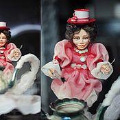 Куклы и игрушки ручной работы. Ярмарка Мастеров - ручная работа Время пить чай. Джинна. Handmade.