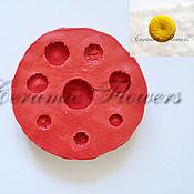 Материалы для творчества handmade. Livemaster - original item Silicone mold (Weiner) midway daisies 8 1. Handmade.
