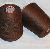 Шелк 100% Botto Poala art shining, цвет коричневый (marro