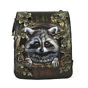 Сумки и аксессуары handmade. Livemaster - original item Women`s bag-backpack