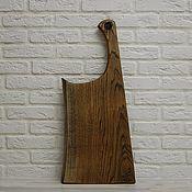 Посуда handmade. Livemaster - original item Board for feeding the Axe. Cutting Board. Handmade.