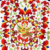 Картины и панно handmade. Livemaster - original item Tapestry based on the Russian national list. Handmade.