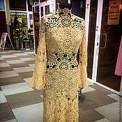 Одежда ручной работы. Ярмарка Мастеров - ручная работа Кружевное платье для Ирины. Handmade.