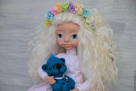 Коллекционные куклы ручной работы. Ярмарка Мастеров - ручная работа. Купить Интерьерная кукла Машенька. Handmade. Розовый, куклы и игрушки