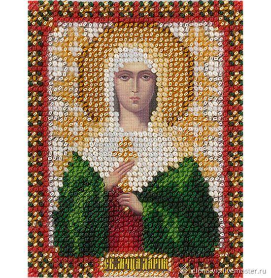 """Набор для вышивания Panna """"Икона Святой мученицы Дарьи"""", Схемы для вышивки, Смоленск,  Фото №1"""