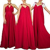 Одежда handmade. Livemaster - original item Stylish women`s jumpsuit, Summer jumpsuit, Red jumpsuit. Handmade.