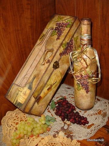 """Корзины, коробы ручной работы. Ярмарка Мастеров - ручная работа. Купить Короб для вина """"Божоле"""" (Beaujolais). Handmade. Деревянная заготовка"""
