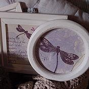 Для дома и интерьера ручной работы. Ярмарка Мастеров - ручная работа Деревянные рамки. Handmade.