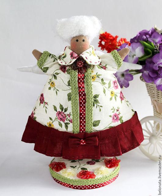 Куклы Тильды ручной работы. Ярмарка Мастеров - ручная работа. Купить Фея Толстушка. Ангел Беляночка. Handmade. Комбинированный, кукла
