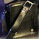 """Мужские сумки ручной работы. Заказать Сумка """" Assassin's Creed"""". AV-Leather (Andrey Volovikov). Ярмарка Мастеров. Сумка"""