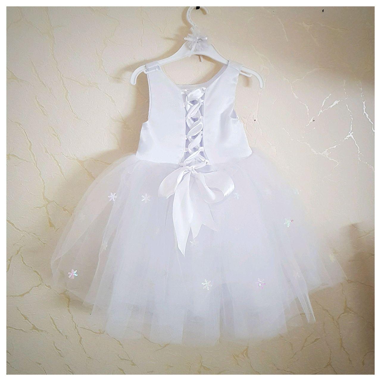 Платье Маленькая снежинка