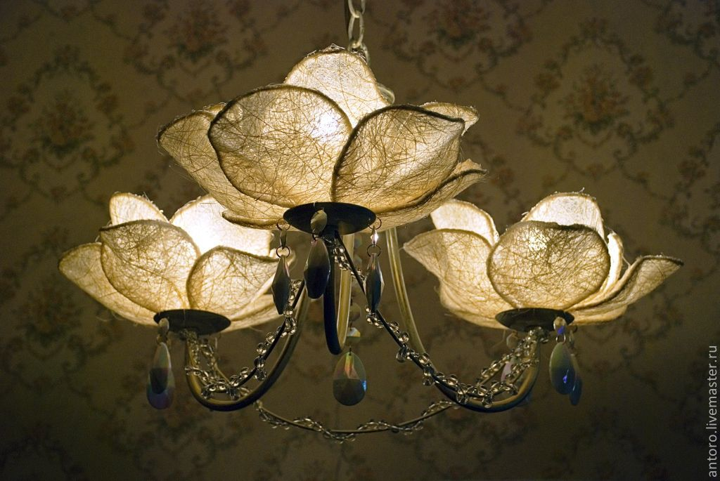 Сделать плафоны для светильников