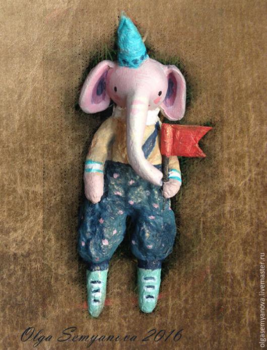 Человечки ручной работы. Ярмарка Мастеров - ручная работа. Купить слоники и человечки. Handmade. Комбинированный, paperclay