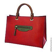 Дизайн и реклама ручной работы. Ярмарка Мастеров - ручная работа Фото сумки Арк-ан-Сьель с клатчем. Handmade.