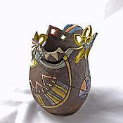 Для дома и интерьера handmade. Livemaster - original item Vase Morocco. Handmade.