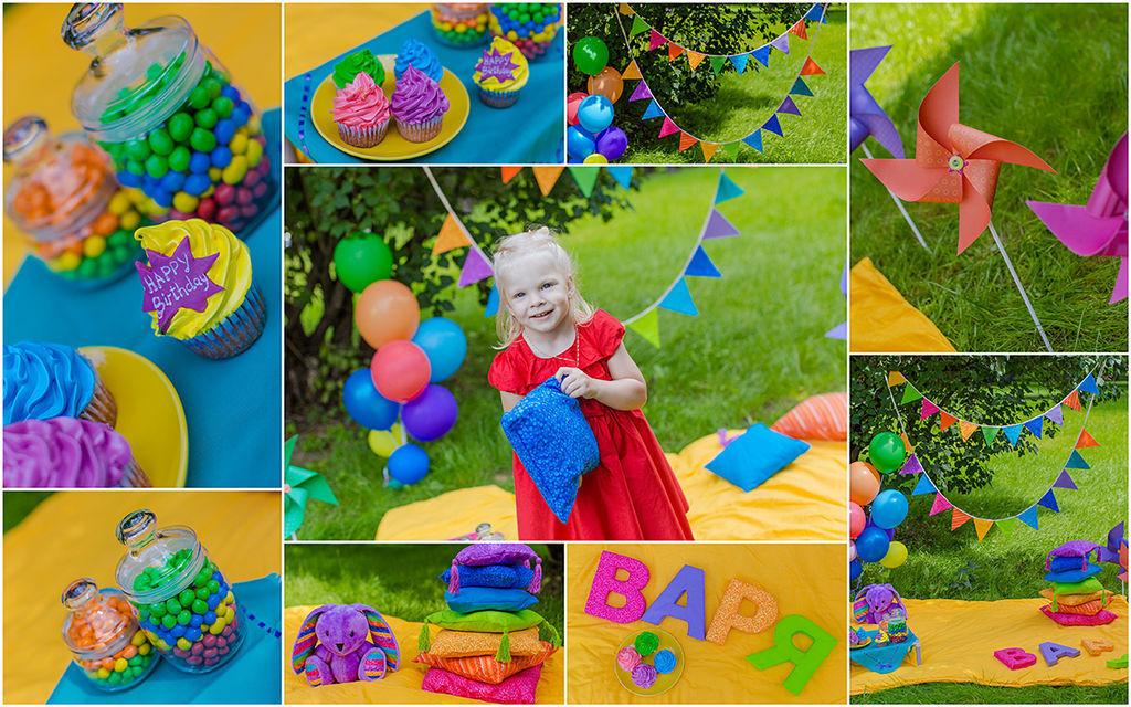 Декорации для день рождения в год