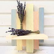 Для дома и интерьера ручной работы. Ярмарка Мастеров - ручная работа Полочка для цветов. Handmade.