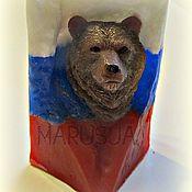Косметика ручной работы. Ярмарка Мастеров - ручная работа Мыло Медведь. Handmade.