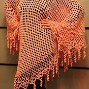 Одежда ручной работы. Ярмарка Мастеров - ручная работа Пончо вязанное. Handmade.