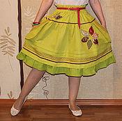 """Одежда ручной работы. Ярмарка Мастеров - ручная работа Юбка """"Задорное лето"""". Handmade."""
