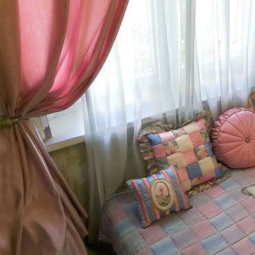 Для дома и интерьера ручной работы. Ярмарка Мастеров - ручная работа Детский комплект из 6-ти предметов (5 подушек + покрывало) – «Мишутка». Handmade.