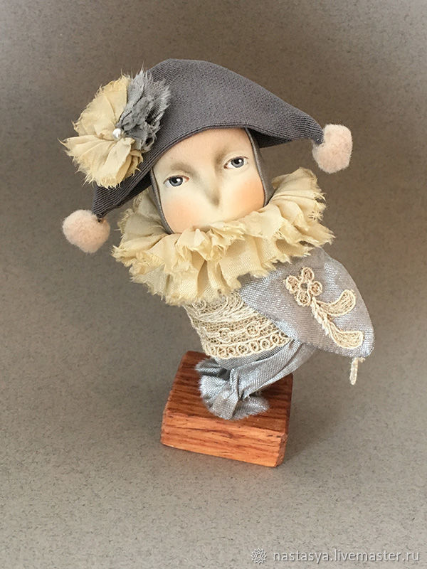 Авторская кукла Жемчужно-Серая Сова, Куклы, Москва, Фото №1