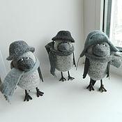Куклы и игрушки handmade. Livemaster - original item The ravens felt(boys))). Handmade.