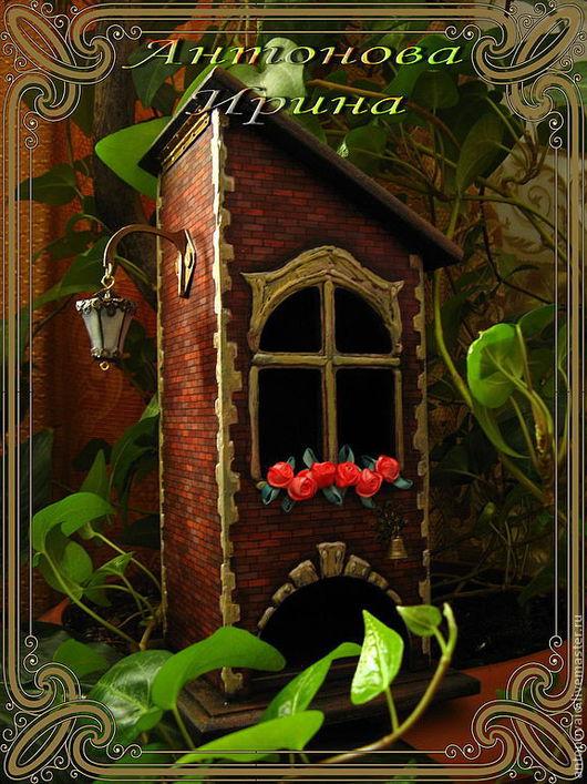 """Чайный домик-""""С фонариком""""для дома ручной работы.Антонова Ирина.Ярмарка Мастеров."""