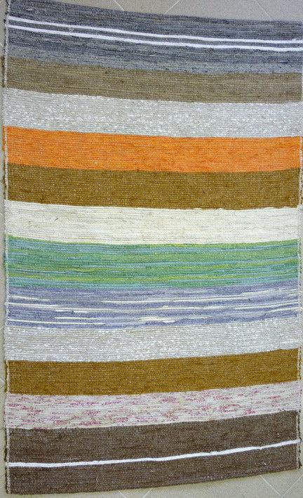 Текстиль, ковры ручной работы. Ярмарка Мастеров - ручная работа. Купить Половик льняной тканый. Handmade. Лён, ткань
