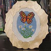 Сувениры и подарки ручной работы. Ярмарка Мастеров - ручная работа Рамка для вышитой картины. Handmade.