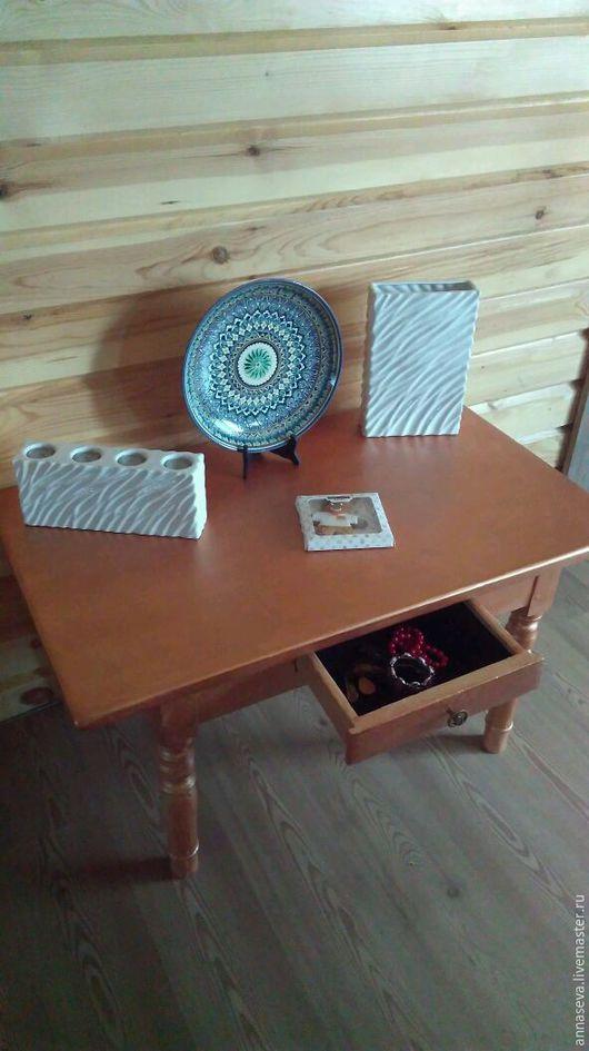 Мебель ручной работы. Ярмарка Мастеров - ручная работа. Купить Винтажный туалетный столик. Handmade. Туалетный столик, стол