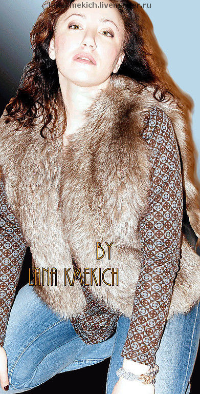 Vests handmade. Livemaster - handmade. Buy Vest fur 'Soft cloud'.Coat, vest fox, solid
