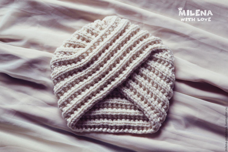 Cap-knitted turban magic East, Caps, Minsk,  Фото №1