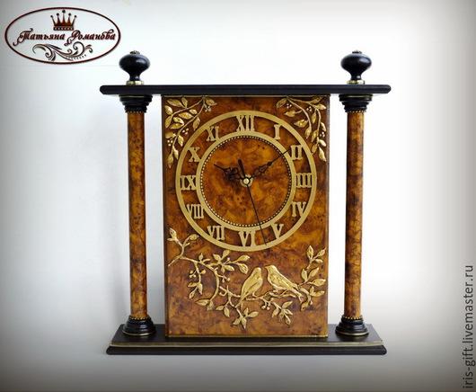 Часы каминные(настольные) `Легенда о соловье`