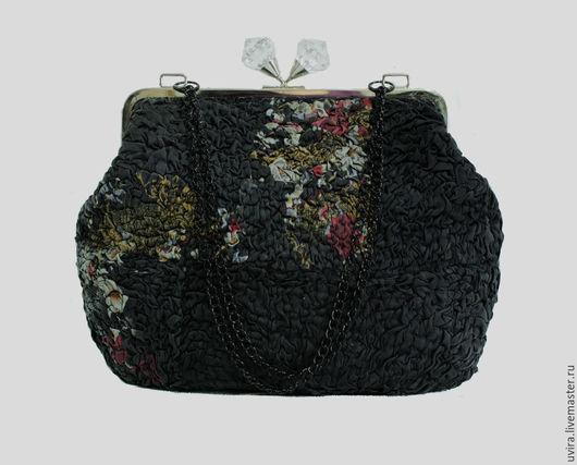 """Женские сумки ручной работы. Ярмарка Мастеров - ручная работа. Купить """" Ретро """" сумка - авторский  войлок, нуно-фелтинг. Handmade."""