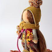 Куклы и игрушки ручной работы. Ярмарка Мастеров - ручная работа Девчушка с осенним именем Агния.... Handmade.