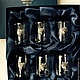 """Подарки для мужчин, ручной работы. Набор """"ВОЛК. ТРОФЕИ"""" на 6 персон (6 стопок в коробке). Мануфактура Жукова ПОДАРКИ МУЖЧИНАМ. Интернет-магазин Ярмарка Мастеров."""