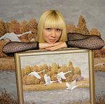 Алёна Верхола (живопись листьями) - Ярмарка Мастеров - ручная работа, handmade