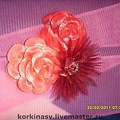 Украшения ручной работы. Ярмарка Мастеров - ручная работа роза. Handmade.