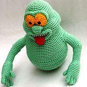 Куклы и игрушки ручной работы. Ярмарка Мастеров - ручная работа Вязаная игрушка Лизун. Handmade.