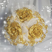 """Букеты ручной работы. Ярмарка Мастеров - ручная работа Букет невесты из бисера """"Зарина"""". Handmade."""