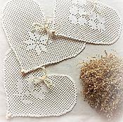 Подарки к праздникам ручной работы. Ярмарка Мастеров - ручная работа Подвеска из трех сердец. Handmade.