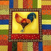 Для дома и интерьера ручной работы. Ярмарка Мастеров - ручная работа Подушка петух. Handmade.