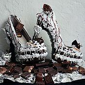"""Обувь ручной работы. Ярмарка Мастеров - ручная работа Туфли """"Sweet S."""". Handmade."""