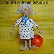 Куклы и игрушки ручной работы. Ярмарка Мастеров - ручная работа Романтичная особа. Handmade.