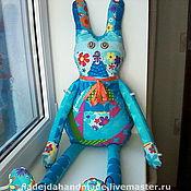 Куклы и игрушки ручной работы. Ярмарка Мастеров - ручная работа Игровая кукла Заец-Удалец-2. Handmade.