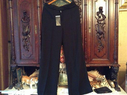 Одежда. Ярмарка Мастеров - ручная работа. Купить Max Mara новые брюки, оригинал. Handmade. Черный, оригинал, полиэстер