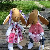 Куклы и игрушки ручной работы. Ярмарка Мастеров - ручная работа влюбленные овечки. Handmade.